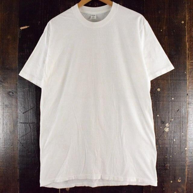 画像1: 90's〜 無地Tシャツ XL (1)
