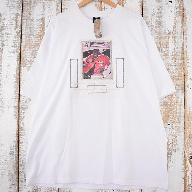 画像1: The Notorious B.I.G. ヒップホップTシャツ 2XL タグ付き未使用 (1)