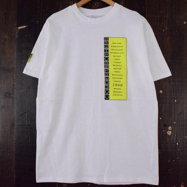 画像1: 90's COUDERT BROTHERS USA製 法律事務所Tシャツ (1)