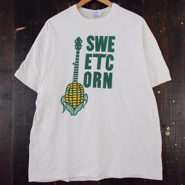 画像1: 90's USA製 SWEETCORN プリントTシャツ XL (1)