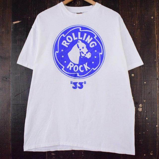 """画像1: 90's """"ROLLING ROCK"""" ビール企業Tシャツ XL (1)"""