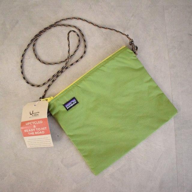 """画像1: Patagonia USA製 """"Upcycled Simple Pouch"""" Nylon Sacoche S DEADSTOCK (1)"""