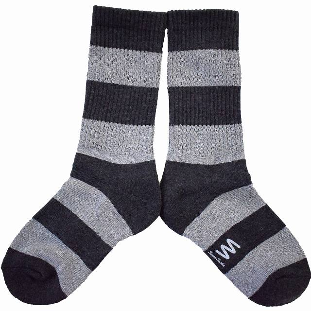 """画像1: Some Socks """"REFLECTION"""" BLACK (1)"""