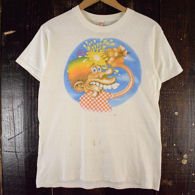"""画像1: 70's GRATEFUL DEAD """"アイスクリームキッド"""" ロックバンドTシャツ L (1)"""