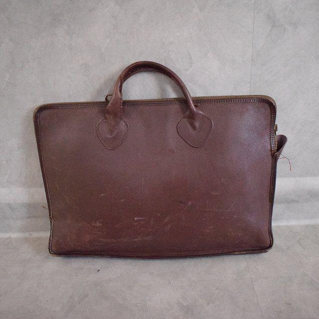 """画像1: 60〜70's L.L.Bean """"Vacuumand"""" Leather Handle Bag (1)"""