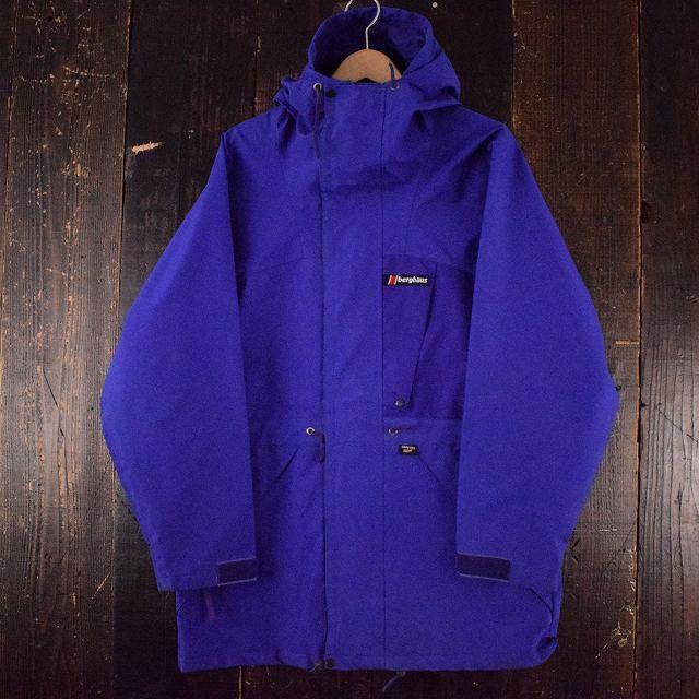 """画像1: 【SALE】 Berghaus BRITAIN製 """"LIGHTNING LADY"""" GORE-TEX Nylon Jacket L (1)"""