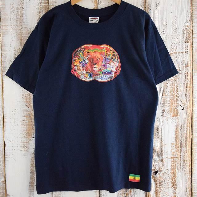 画像1: 【SALE】 90's〜00's サブカルチャーコラージュTシャツ L DEADSTOCK (1)