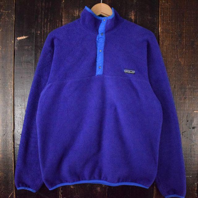 画像1: 80's Patagonia USA製 スナップT 初期型 L (1)