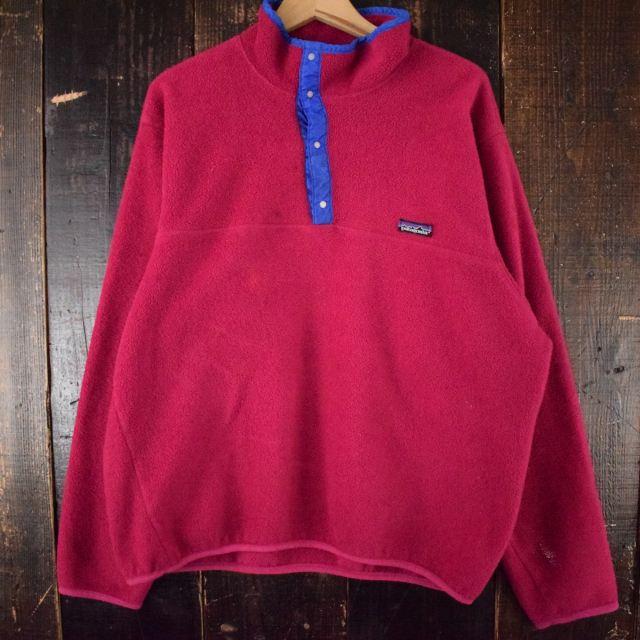 画像1: 80's Patagonia USA製 スナップT 初期型 XL (1)