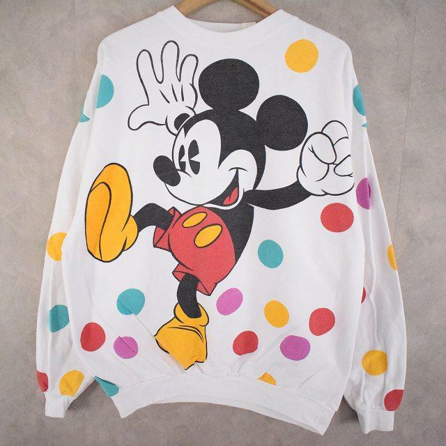 """画像1:  90's MICKEY&CO.  """"Mickey Mouse"""" キャラクタープリントスウェット (1)"""