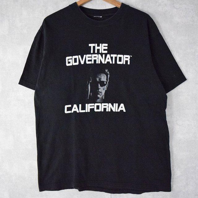 """画像1: Arnold Alois Schwarzenegger """"THE GOVERNATOR CALIFORNIA"""" プリントTシャツ (1)"""