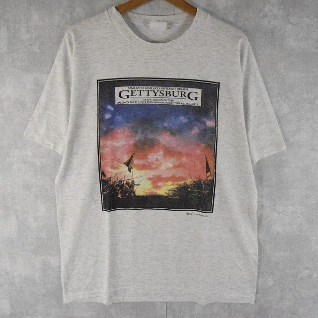 """画像1: ●【SALE】 90's """"Gettysburg"""" 映画Tシャツ (1)"""