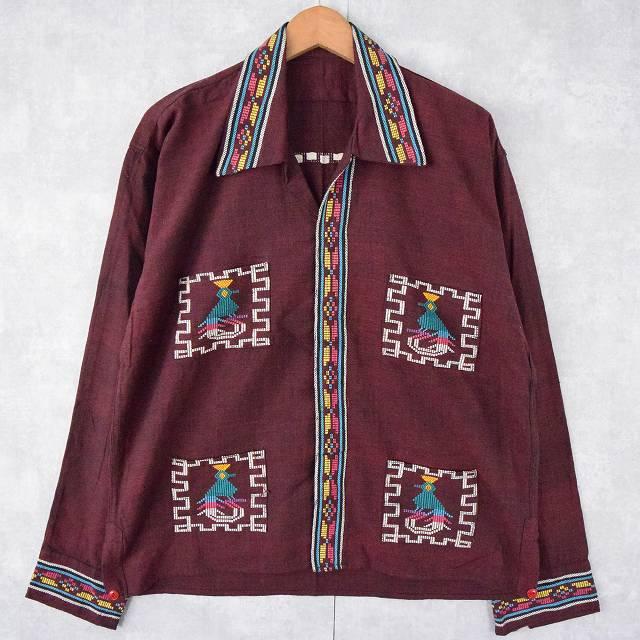 画像1: 【SALE】70〜80's グアテマラシャツ (1)