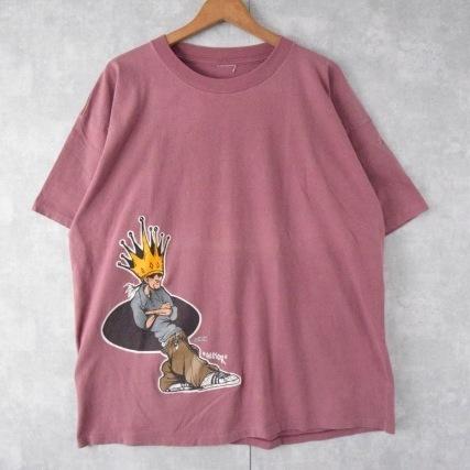 """画像1: 【SALE】 S.T. """"Hector"""" イラストプリントTシャツ (1)"""