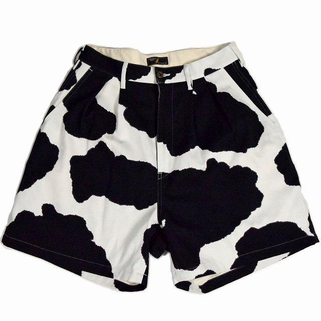 """画像1: STRANGE TRIP """"COW WIDE SHORTS"""" WHITE 【M】 (1)"""