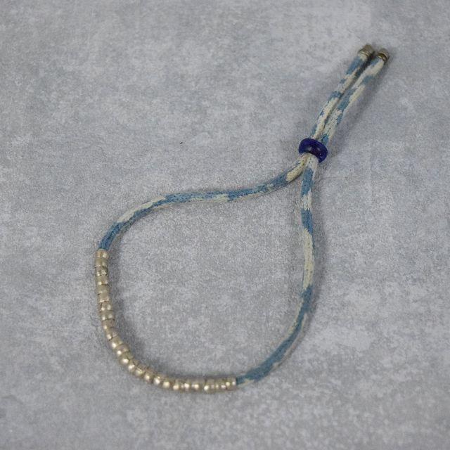画像1: RORAN Silver×Indigo ropeブレスレット (1)