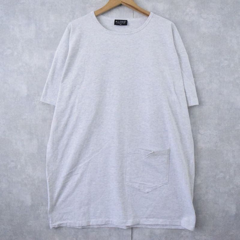 画像1: 90's ALORE USA製 ポケットデザインTシャツ DEADSTOCK (1)