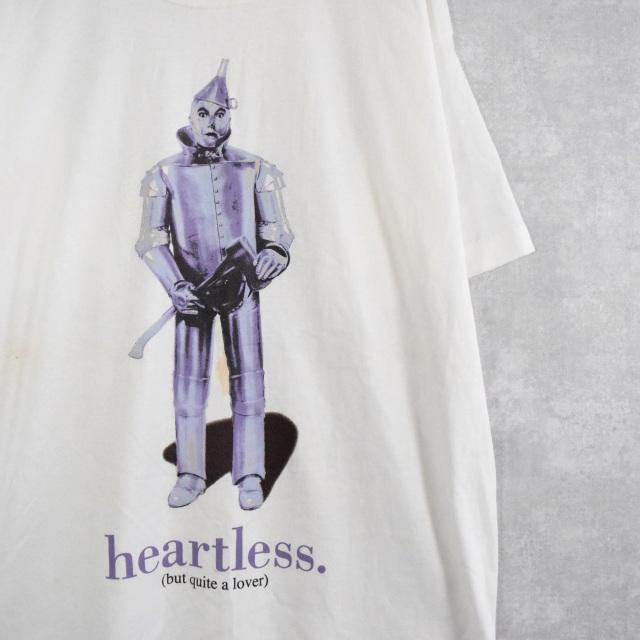 """画像1: 90's The Wonderful Wizard of Oz USA製 """"Tin Woodman"""" イラストプリントTシャツ XL (1)"""