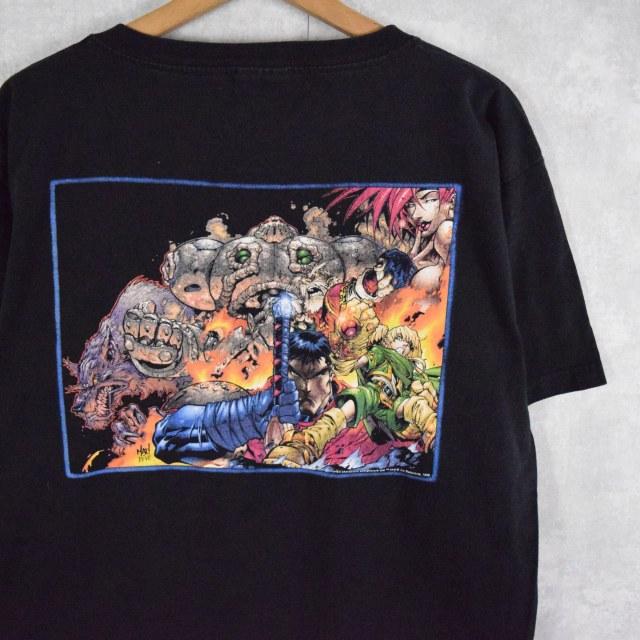 画像1: 90's BATTLE CHASERS ゲームTシャツ L (1)