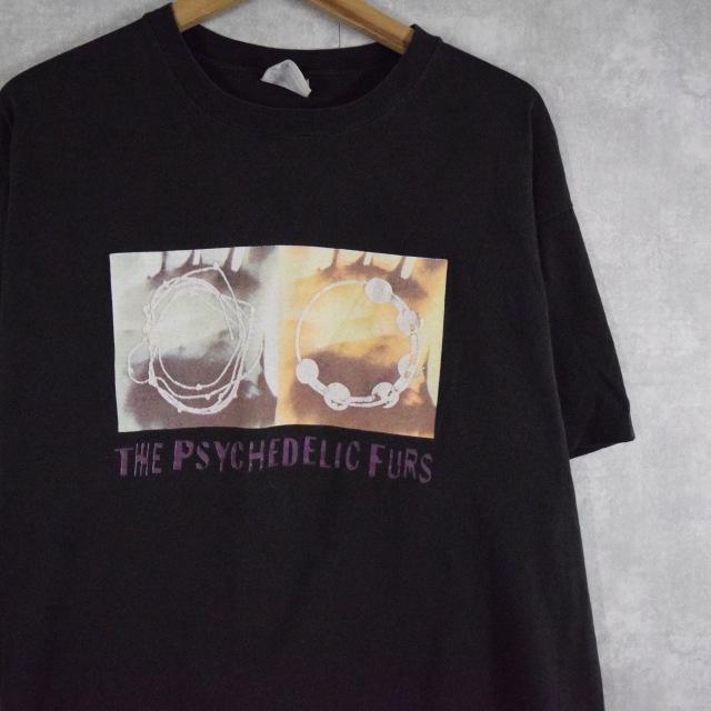 """画像1: 80's USA製 The Psychedelic Furs """"WORLD OUTSIDE"""" ポストパンクバンドTシャツ XL (1)"""