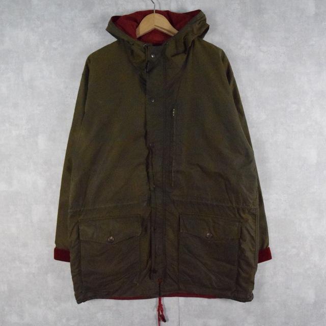 画像1: 90's POLO Ralph Lauren USA製 オイルドジャケット M (1)