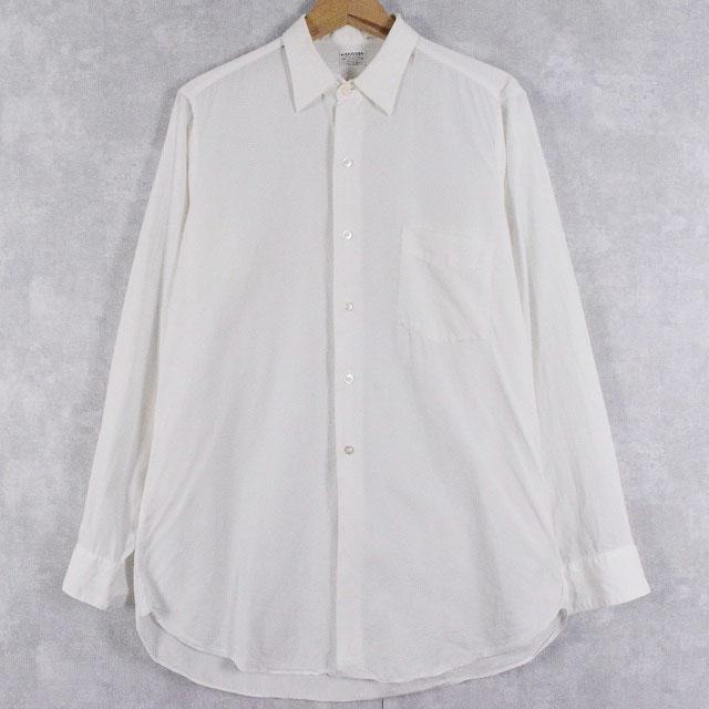 画像1: 50's〜60's ARROW USA製 マチ付き コットンシャツ  (1)