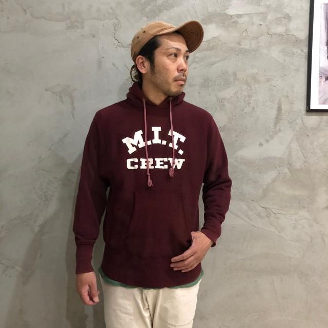 """画像1: 70's Champion REVERSE WEAVE 単色タグ """"M.I.T. CREW""""  スウェットパーカ M (1)"""