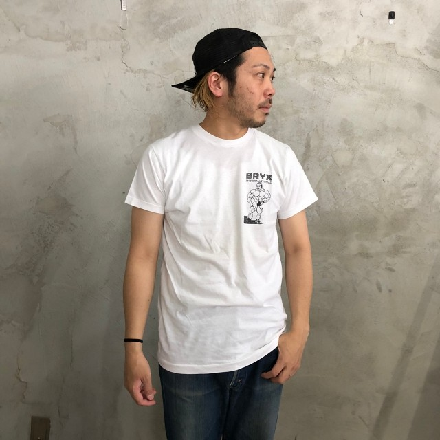 """画像1: ●【SALE】 80's〜90's USA製 """"BRYX INTERNATIONAL"""" プリントTシャツ (1)"""