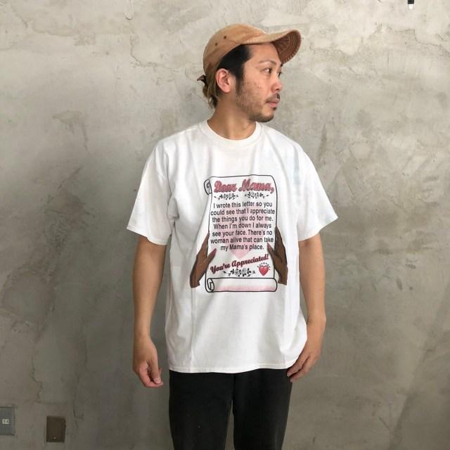 画像1: 90's JERZEES レタープリントTシャツ XL (1)
